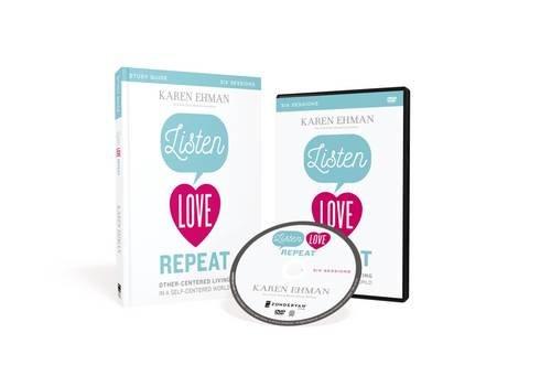 Listen, Love, Repeat by Karen Ehman | book, Bible study, & DVD feature + giveaway