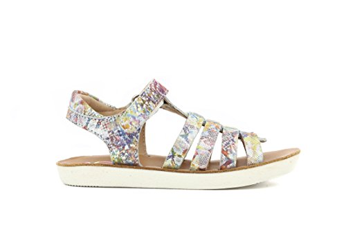 Shoo Pom , Sandales pour fille multicolore blanc