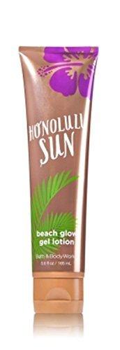 Waikiki Beach Honolulu (Bath & Body Works Beach Glow Gel Lotion Honolulu Sun)