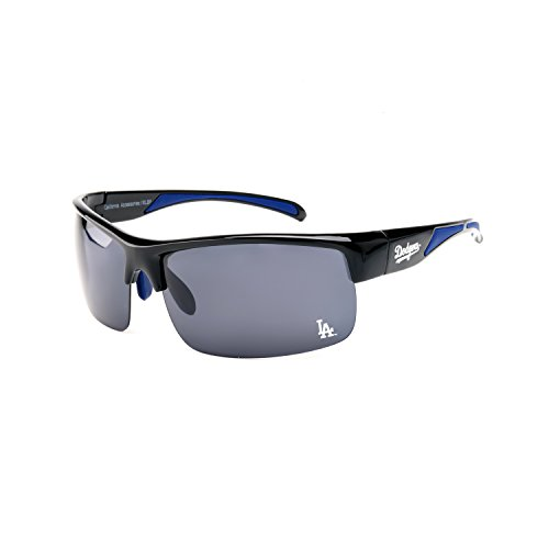 CA Accessories MLB Los Angeles Dodgers Center Field Sunglasses, Black