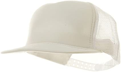 Youth Polymesh Cap White