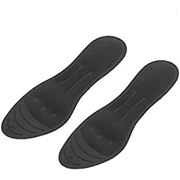 Liquid Massaging Orthotic Insoles Glycerin Filled Insert Shoe Inserts Absorbs Shock Therapeutic Foot Massage for Men Women, Size M1