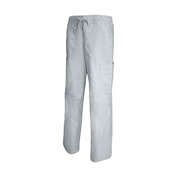 MISEMIYA Pantalón Cintura Baja con Cordón Uniforme Laboral Clinica Hospital Limpieza Veterinaria Sanidad Hostelería utilidades de Trabajo Unisex Adulto 1