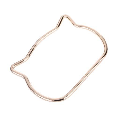SimpleLif Metal Bag Handle,Cute Cat Ear Handle DIY Shoulder Bags Making Handbag Handle Replacement Accessories by SimpleLif (Image #6)