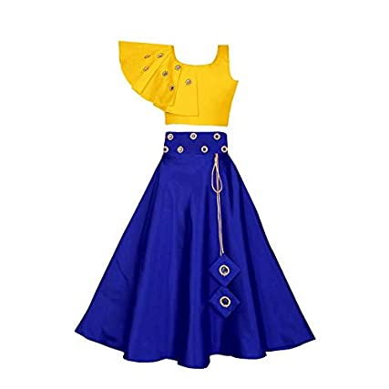 Best Fashion Dream Girl's Ethnic Wears Western design Lehenga Choli In India 2020