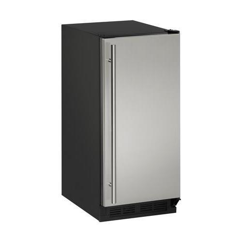 U-Line U1215RS00B 2.9 cu. ft. Built-in/Freestanding Compact Refrigerator, Stainless Steel