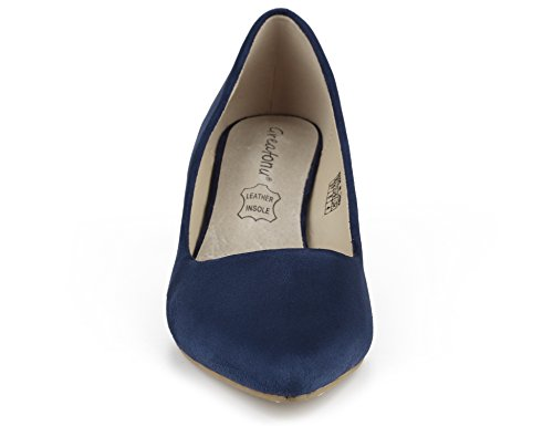 36 Blue Donna tacco con Espiones Eu Suede Classics 41 Greatonu New Suedes Scarpe xyASPqZZc
