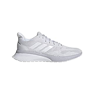 adidas Women's NOVAFVSE X Running Shoe, White/White/Grey, 11 M US