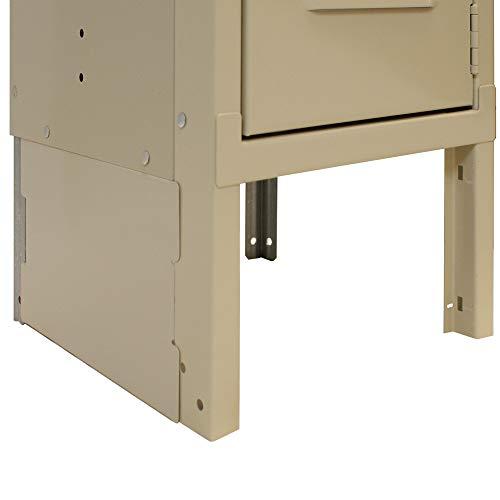 Steel Locker End Base - Lyon PP5804 15