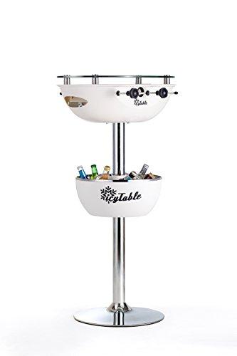 Sweety Toys 6632 Icy Table Multifunktionstisch: Bartisch-Kühlbox-Tischkicker WEISS