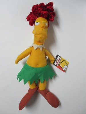 Retired The Simpsons Krusty the Clown Sidekick Sideshow Bob 12