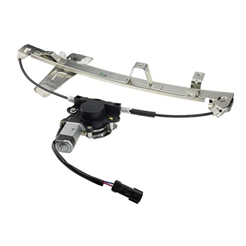 04 Jeep Grand Cherokee Window - Front Left Driver Side Power Window Regulator with Motor Assembly for Jeep Grand Cherokee 2001-2004