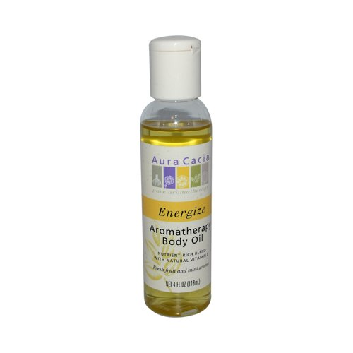 Aromatherapy Body Oil Energize - 4 fl oz by Aura Cacia B00EZL8MT6