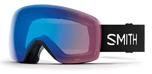 Smith Optics Skyline Adult Snow Goggles - Black/Chromapop Storm Rose Flash/One Size (Products Skyline Outdoor)