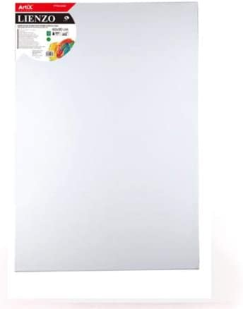 Lienzos para pintar | Apto óleo, acrílico o técnica mixta Pre-estirado 100% algodón 380grs/ Perfil 35mm (60 x 90 cm): Amazon.es: Hogar