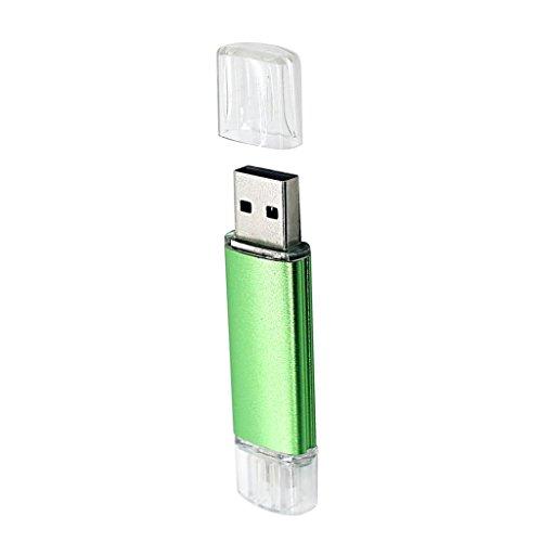 MagiDeal 32GB USB Micro USB Flash Drive U Disk Memory Stick