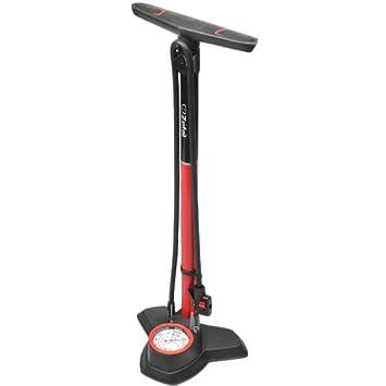 Zefal Alloy Profile 180 PSI Floor Bicycle Pump (Red/Black)