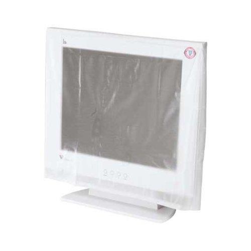 Hama Bildschirm Staubschutz-Hülle (für Monitore von 48 bis 53 cm (19 - 21 Zoll)) transparent
