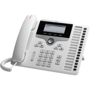 Price comparison product image Cisco Ip Phone 7861 - Voip Phone - Sip, Srtp - 16 Lines - Charcoal - Remanufactured