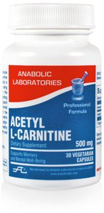 (Anabolic Laboratories ACETYL L-CARNITINE 500mg 30 Caps)