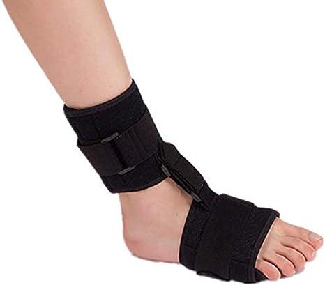 ZHAS Tobilleras, Soportes para los pies, férulas para los pies - Soporte Ajustable para el Tobillo Soporte para la fijación de la Fractura del pie para Corregir el Equipo de rehabilitación de hem
