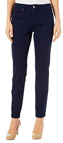 - Royalty by YMI Womens Wannabettabutt Straight Fit Jeans 16 Dark Rinse Blue