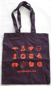 - Quirk Books Anniversary PROMOTIONAL Tote Bag