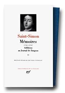 Mémoires, tome 2 : 1701 1707 par Saint-Simon