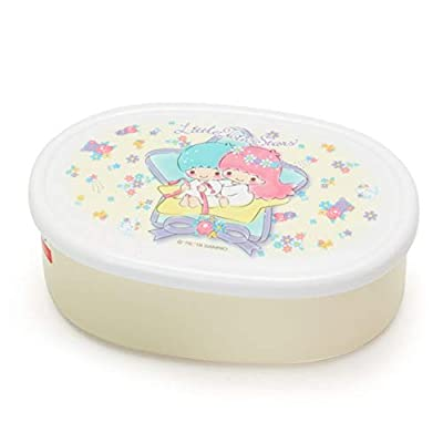 SANRIO Little Twin Stars Design Nesting Microwavable Food Storage Lunch Boxes Set of 3pcs: Toys & Games