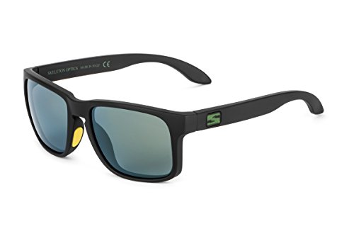 Skeleton Optics Decoy Special Edition Sunglasses, Green/Yellow, One Size