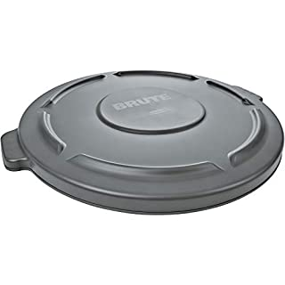 Rubbermaid Commercial Round Brute Container Lid, Gray (B00002NC3K) | Amazon price tracker / tracking, Amazon price history charts, Amazon price watches, Amazon price drop alerts