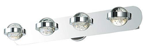 ET2 Lighting E30614-91PC Cosmo 4-Light Bath Vanity-PCB LED, Polished -