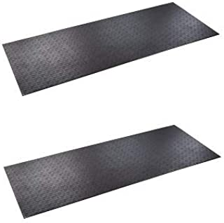 product image for SuperMats Solid P.V.C. Mat for Treadmill (Pack of 2)