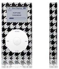 Tunewear POPTUNE Houndstooth, para todos los iPod mini