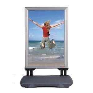 Kundenstopper WindPro Plakatst/änder DIN A0