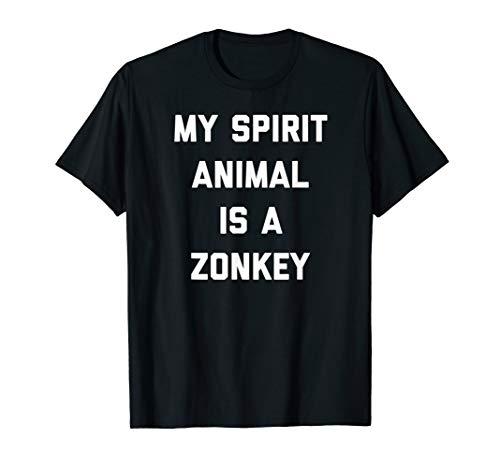 My Spirit Animal Is A Zonkey Zebroid Hybrid Funny ()