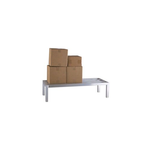 New Age 20 W X 42 L X 12 High 1 Tier Square Dunnage Rack
