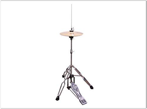 【クーポン対象外】 カホンハイハット(10インチ小型ハイハット&スタンド付き)スプラッシュシンバルを使用したカホンとの相性も良い楽器です B072ZRSGHL B072ZRSGHL, 古今東西屋:8a0c492e --- a0267596.xsph.ru