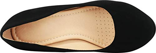 Pump Cambridge Round Stiletto Select Platform Comfort High Women's Black Nbpu Heel Padded Toe TTvgq