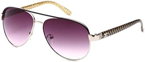 Newbee Fashion - Big Oversized Aviator Fashion Sunglasses UV Protection Metal 2017 Model