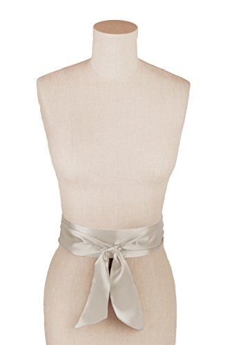 Charmeuse Silk Belt - L. Erickson USA 2 1/2