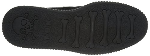 Donna Round Black Sole Creeper K T Nero U Sneaker Low Basse 1T8xPq