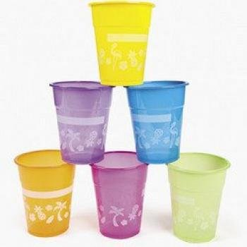 Review Luau Disposable Cups : package of 50