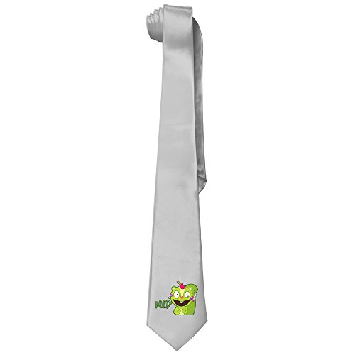 Ggift Happy Tree Friends Nutty Mens Fashion Business Solid Necktie Ties