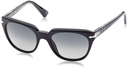 Persol Sonnenbrille (PO3111S) Schwarz (Gestell: schwarz, Gläser: grau-verlauf 95/71)