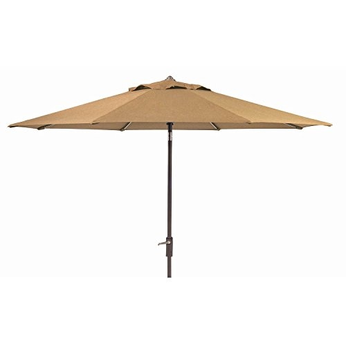 Members Mark Sunbrella 10 Ft. Patio Market Umbrella With Auto Tilt Beige
