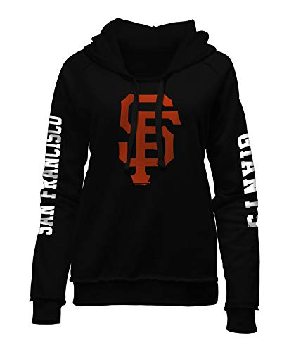 New Era San Francisco Giants Women's MLB Home Run Pullover Hooded ()