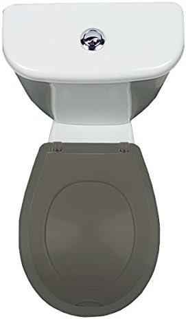 Abattant WC Clipsable Gris Lunette et abattant Lunette Papado