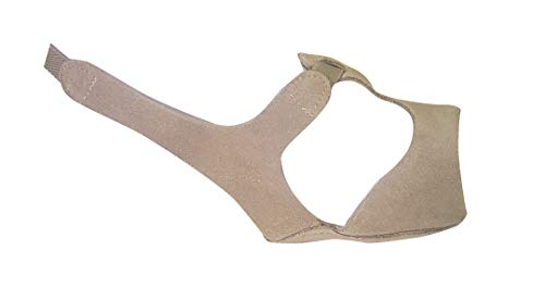 Sandal Sole Half - Modern Dance Foot Thong/Half Sole Lyrical Sandal in Suede TAN