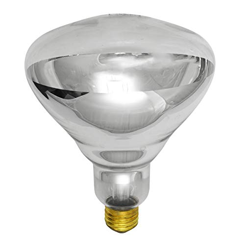 PFA-375R40/1 Infrared Heat Lamp - Volts: 120V, Watts: 375W, Type: BR40 -